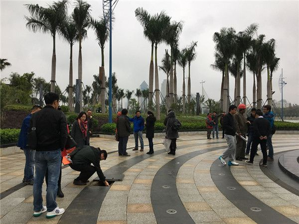 南宁市民族大道滨湖广场雨水回用系统工程