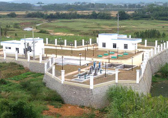 钦州市钦北区平吉镇污水处理厂(MC-MBBR技术)
